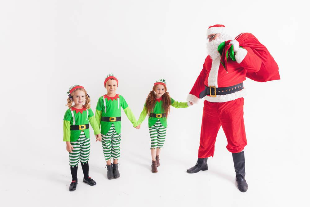 La Navidad también es para disfrazarse